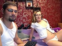 Tiffany Rivers & Aaron Hunk Private Webcam Show