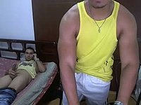 Latino Duo Sex Webcam Show with Gabano and Dario