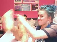 Vicky Rose & Carlo Huge Private Webcam Show