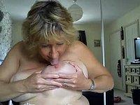 Nipple Licking to Cum