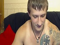 Barney Webcam Shows Off His Ass and Dick