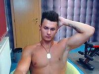Jacques Miller Webcam Shows Off His Body