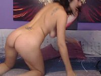 Bella & Andy Ass Spanling