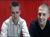 Duo Foot Webcam Show