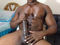 Latino Model Jerks Massive Dick