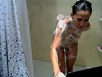 Lexi Lenore Webcam Shower, Brunette