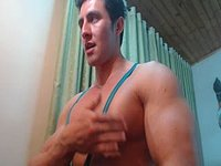 Muscle Guys Play Nips and Jerk
