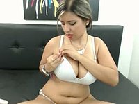 Mharian Camber Plays with Tits and Vibrator