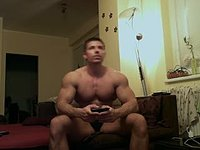 Lucas Webcam Showing His Nude Muscled Body