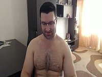 Atilla Strong Webcam Shows Off His Hairy Hole