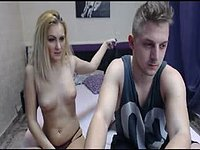 Beautiful  Blonde Ella Does a Complete Hardcore Webcam Show