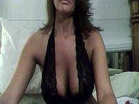 Big Titted Cougar Plays