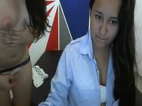 Juana V & Abia Campos W Private Webcam Show
