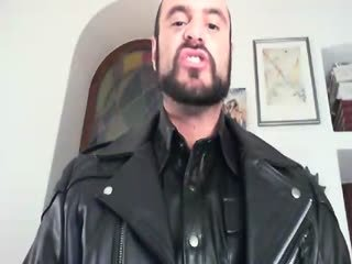 Leather Worship with Master Vinx