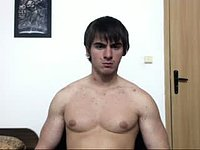 Rosen's Shirtless Chat Webcam Show, Nice Nipples