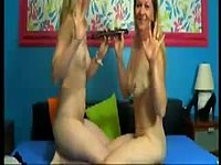 Debbie Acoste & Kitty Sweet Private Webcam Show