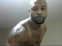 Ebony Model, Monk Webcam Shows Off His Body