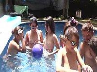 Lucy & Tyra & Bianca & Angie & Ana & K Private Webcam Show