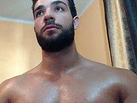 Raz Muscle Private Webcam Show