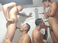 Four Way Fucking with Facial