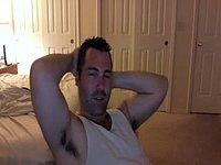 American Male Paul Jerks His Dick
