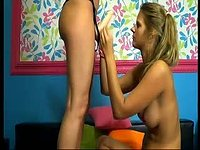 Redhead and Blonde Perfect Lesbian Couple