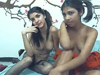 Lilah Lust & Karol Cute Private Webcam Show