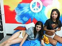 Karol Cute & Lilah Lust Private Webcam Show