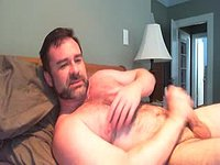 Mature Model Tony Plays with His Dick