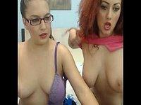 Kitty Roze & Ruby Jones Private Webcam Show