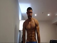 Leo Perez Webcam Showing Off His Body & Jerking