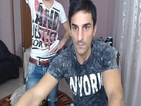Marcel R & Jhon Blonde Private Webcam Show