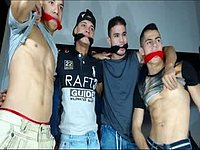 Crhistian & Hades & Dereckk & Axel Private Webcam Show