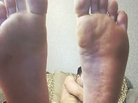 Manny Webcam Shows His Big Feet
