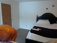 Pierce Armpit and Dildo Webcam Show