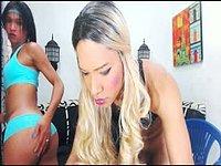 Sharoll & Sweet Fabio & Helen Safeira Private Webcam Show