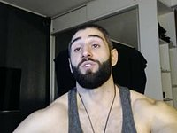 Hot Master Victor Muscle Webcam Show
