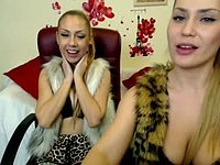 Vicky Evans & Mya Yume Private Webcam Show