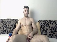 Eric Heart Talks Dirty and Plays with His Dick