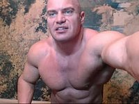 Algernon Big Muscle Jerks Webcam Show