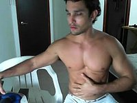 Felipe Bello's Muscles and Ass Webcam Show