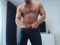 European Model, Alec Plays with His Dick and Webcam Shows Feet