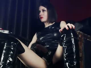 Leather Worship with Mistress Helena