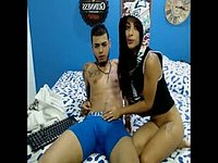 Dante & Jackie Private Webcam Show