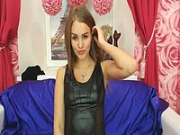 Sazz Slowly Strips and Webcam Shows Off Her Incredible Body