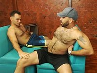 Ronal Mayer & Charlie Stifler Private Webcam Show
