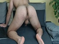Hot Bear Jerking Off