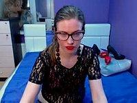 Kelly is Webcam Showing Her Feet