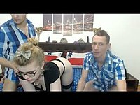 Deea Briliance & Deen London & Jimmy Hott Private Webcam Show