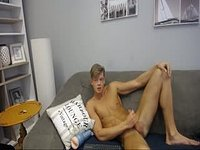 Hot Belami Model Amazing Jerk Off Session Before Shooting His Load